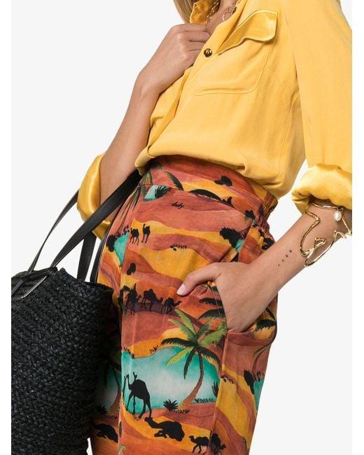 Chufy Oasis プリント パンツ Multicolor