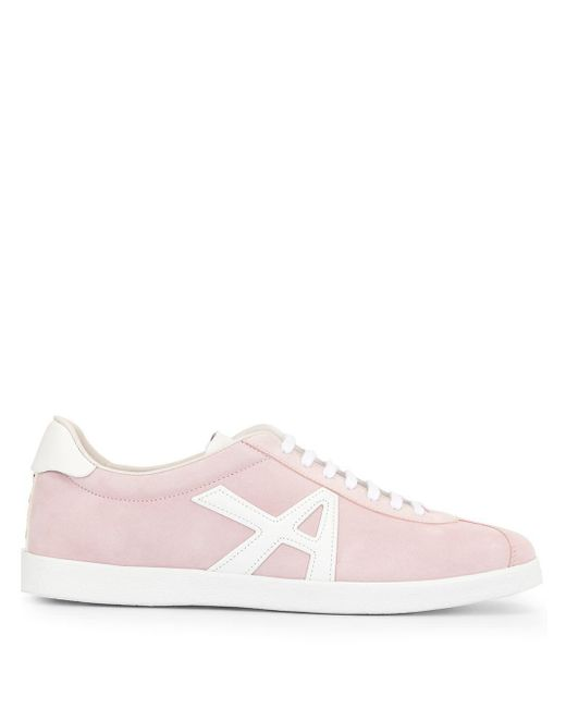 Aquazzura The A Sneaker Pink Suede
