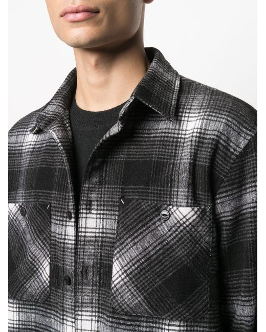 メンズ Carhartt WIP チェック シャツ Black