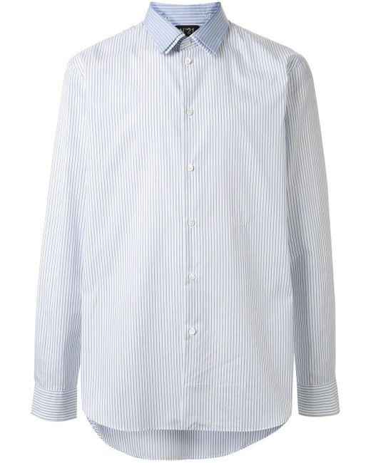 メンズ N°21 ダブルカラー シャツ White
