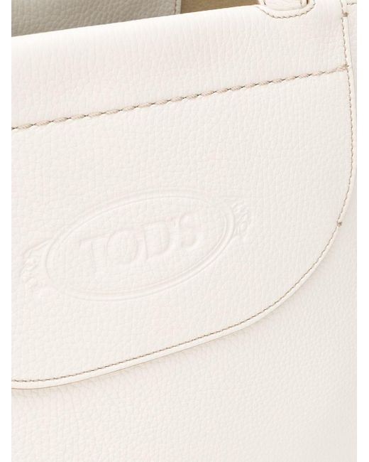 Tod's ロゴ ハンドバッグ White