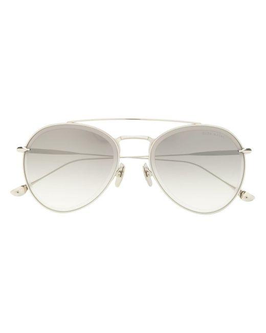 Солнцезащитные Очки-авиаторы Axial Dita Eyewear, цвет: Metallic