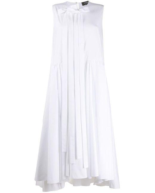 Rochas リボン ドレス White