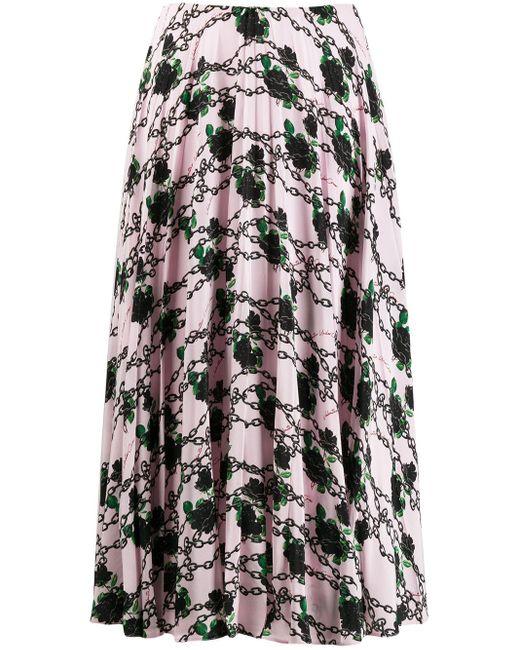 Плиссированная Юбка Из Коллаборации С Undercover Valentino, цвет: Pink