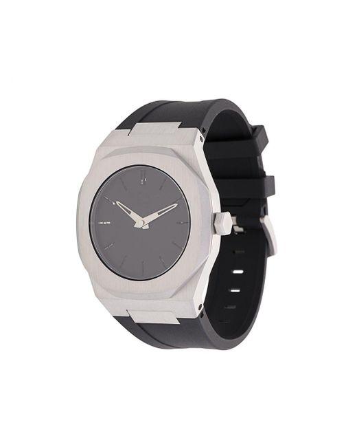 D1 Milano Black Mechanical Watch