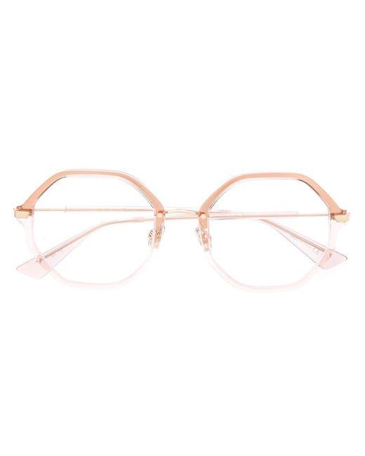 Очки Diorline1 В Шестиугольной Оправе Dior, цвет: Metallic