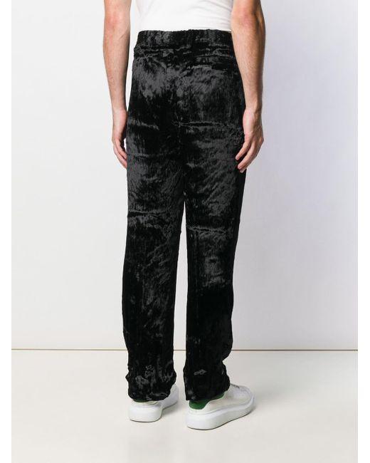 Giorgio Armani Blue 1990's Trousers for men