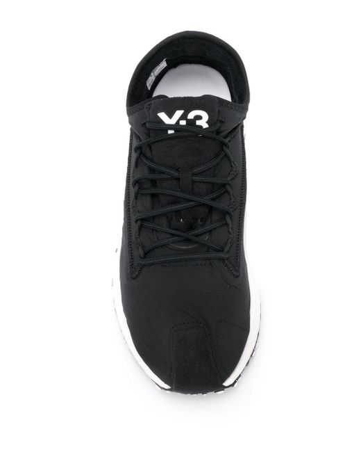 Y-3 Raito Racer Trainers Black/white