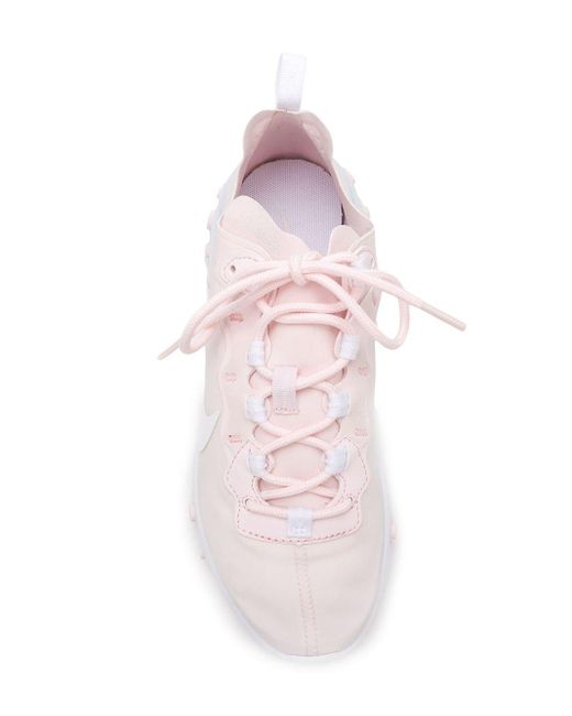 Nike React Element 55 スニーカー Pink