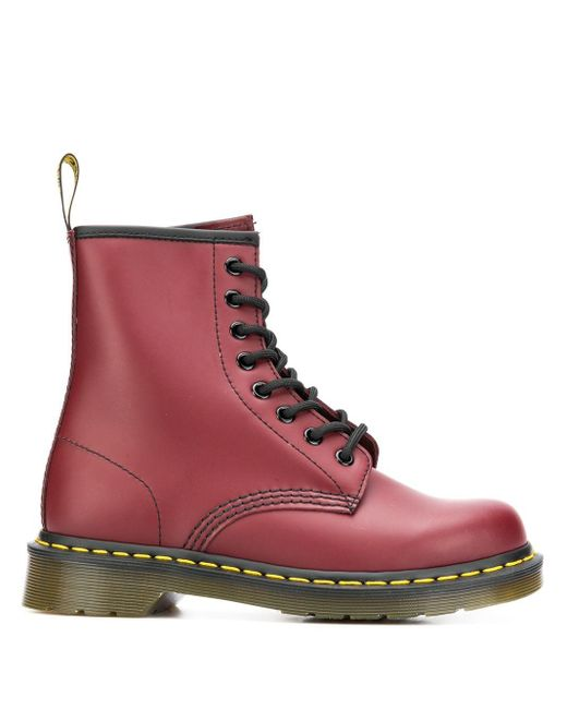 Dr. Martens ブーツ In Red. Size 7, 10, 6.