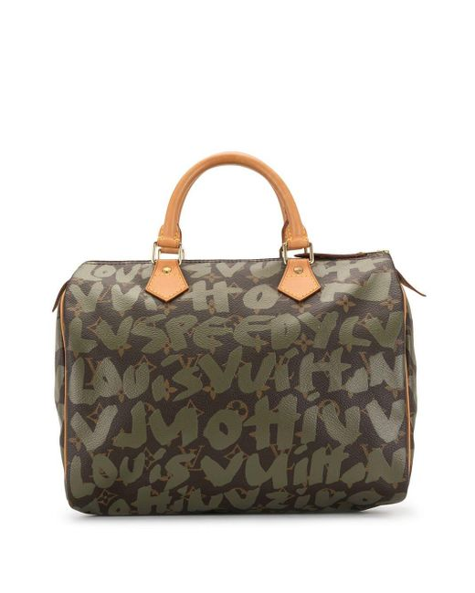 Louis Vuitton 2001 プレオウンド スピーディ 30 バッグ Brown