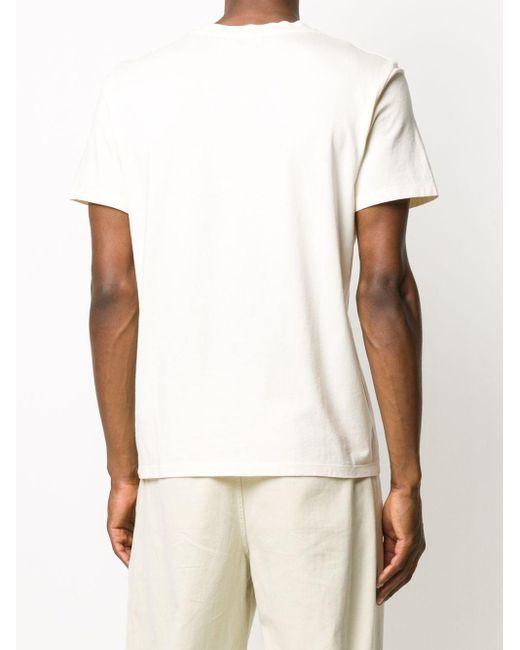 メンズ Sandro スローガン Tシャツ White
