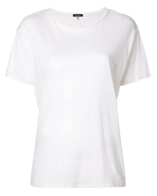 R13 クラシック Tシャツ White
