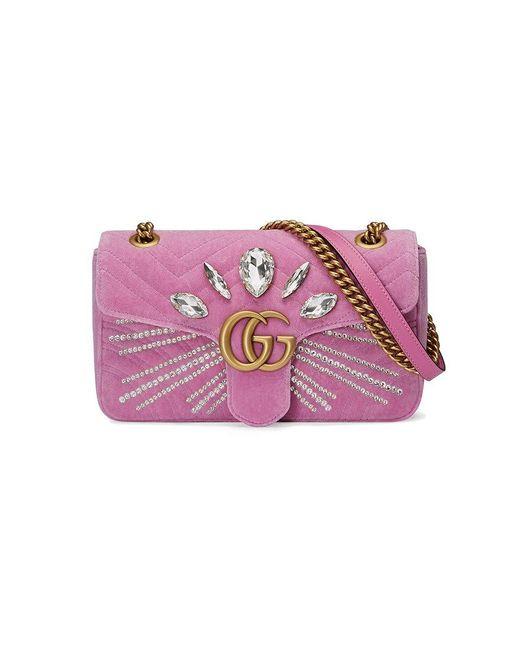 Gucci | Multicolor Gg Marmont Small Shoulder Bag | Lyst