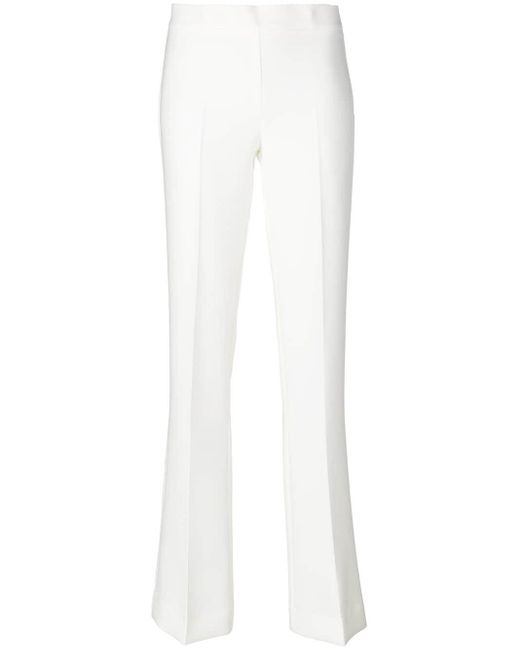 P.A.R.O.S.H. White Skinny Fit Trousers
