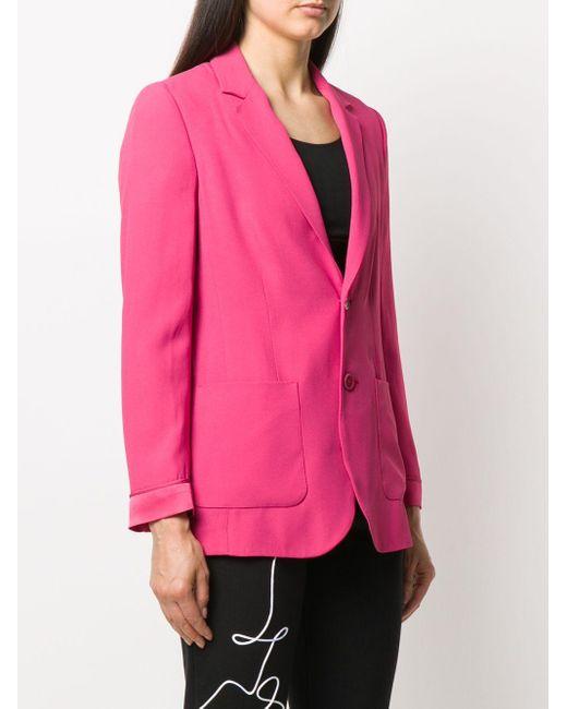 RED Valentino シングルジャケット Pink