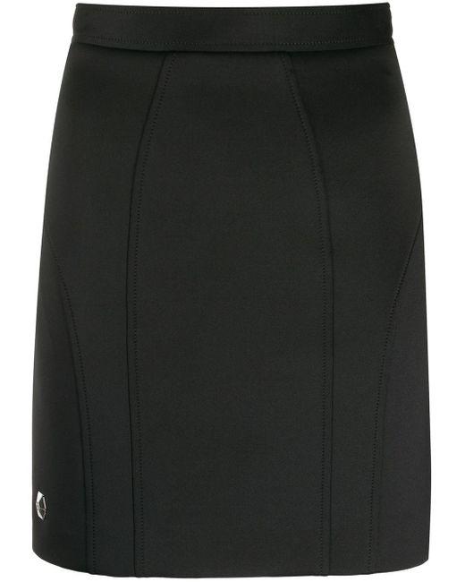 Philipp Plein スリムミニスカート Black