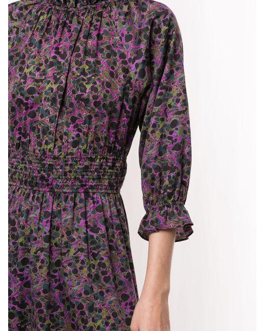Cynthia Rowley Marbelle マキシドレス Multicolor