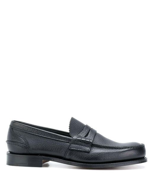Church's Black Classic Formal Loafers for men