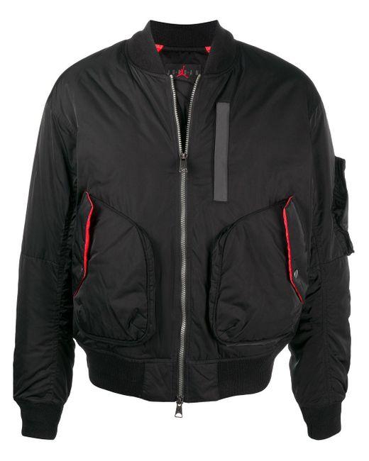 メンズ Nike ロゴ ボンバージャケット Black