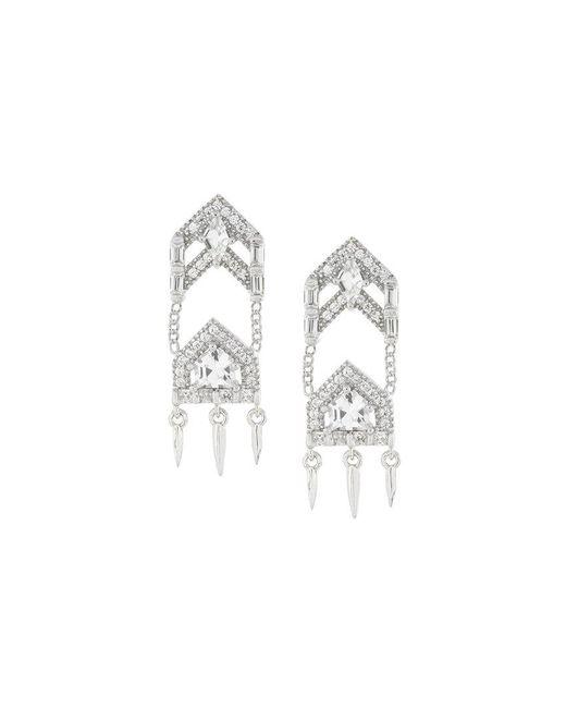 V Jewellery | Metallic Anita Earrings | Lyst