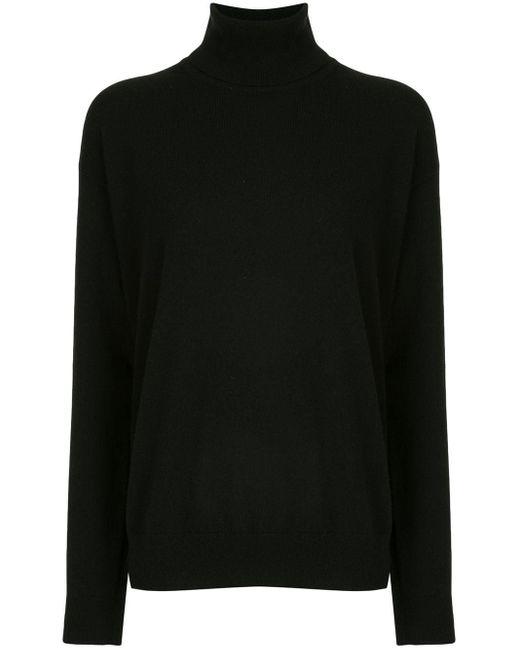 Кашемировый Джемпер В Рубчик Brunello Cucinelli, цвет: Black