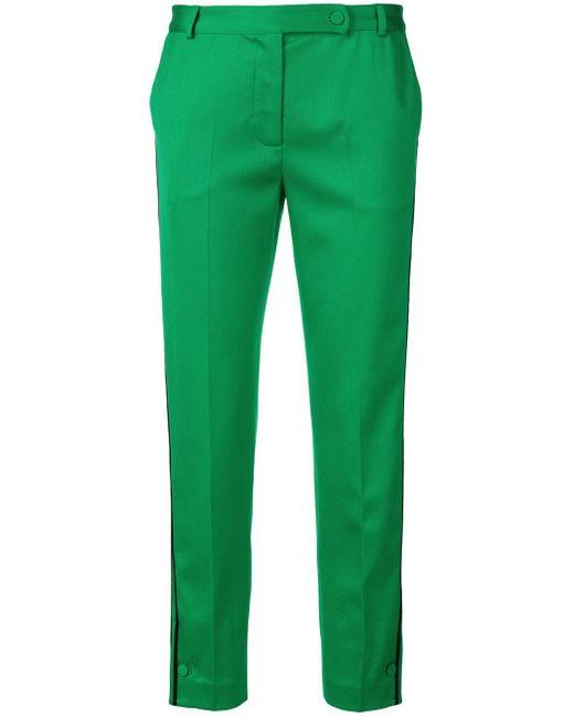 Styland テーラードパンツ Green
