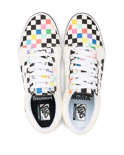 Baskets à motif damier Vans pour homme en coloris Multicolor