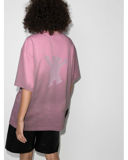 we11done テディベア Tシャツ Pink