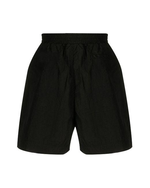 1017 Alyx 9sm Men's Black Plain Slip-on Swim Shorts