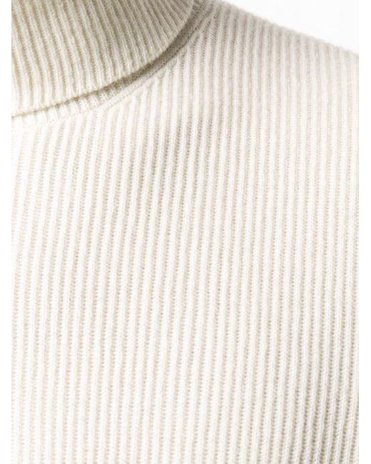 Джемпер С Высоким Воротником Brunello Cucinelli для него, цвет: Multicolor