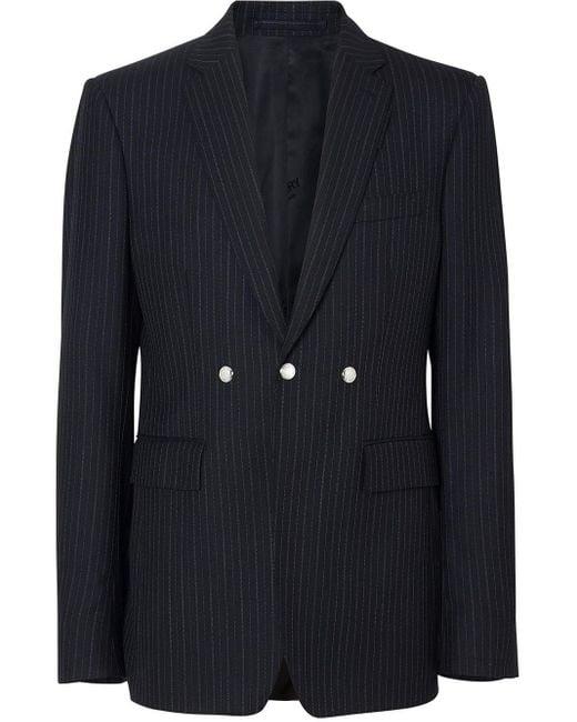 メンズ Burberry テーラードジャケット Black