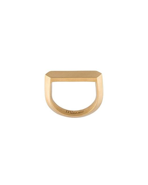 Miansai | Multicolor 'flat Top' Ring | Lyst