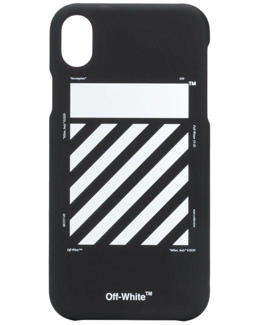 Off-White c/o Virgil Abloh Black Logo Iphone Xs Max Case for men