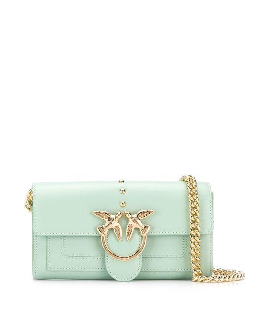 Petit sac à bandoulière Love Simply Pinko en coloris Green