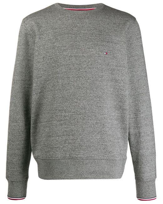 メンズ Tommy Hilfiger クルーネック スウェットシャツ Gray