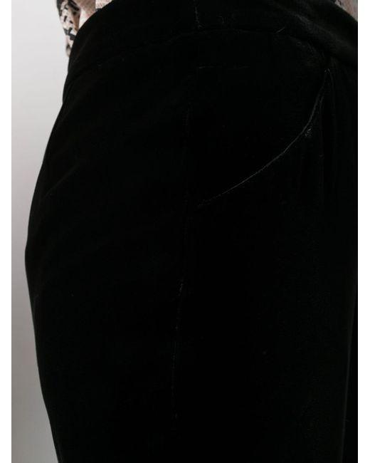 Брюки Прямого Кроя Giorgio Armani, цвет: Black