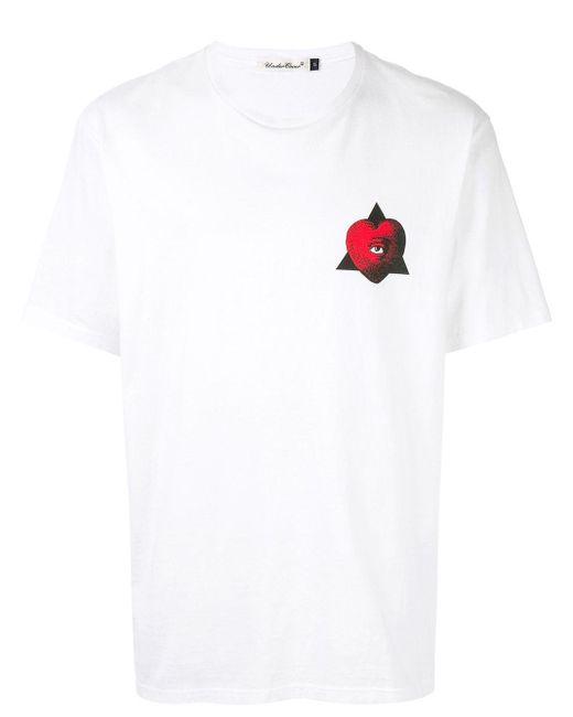 メンズ Undercover グラフィック Tシャツ White