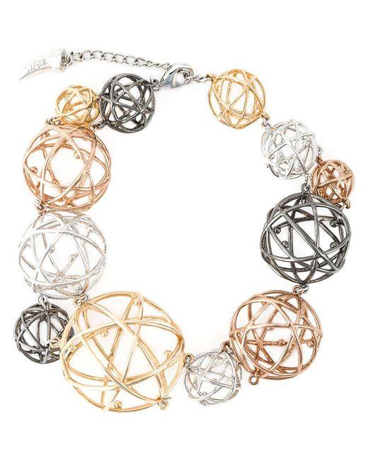 Eshvi - Metallic 'astro' Bracelet - Lyst