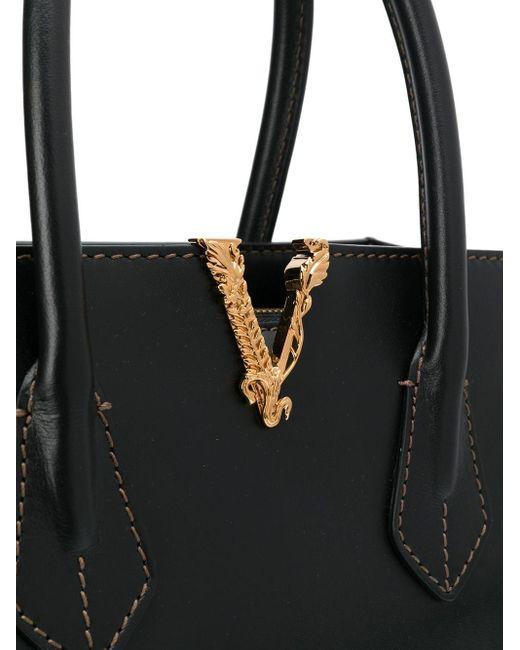 Versace Virtus ハンドバッグ Black
