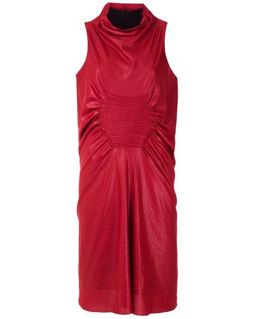UMA   Raquel Davidowicz Bosnia ノースリーブドレス Red