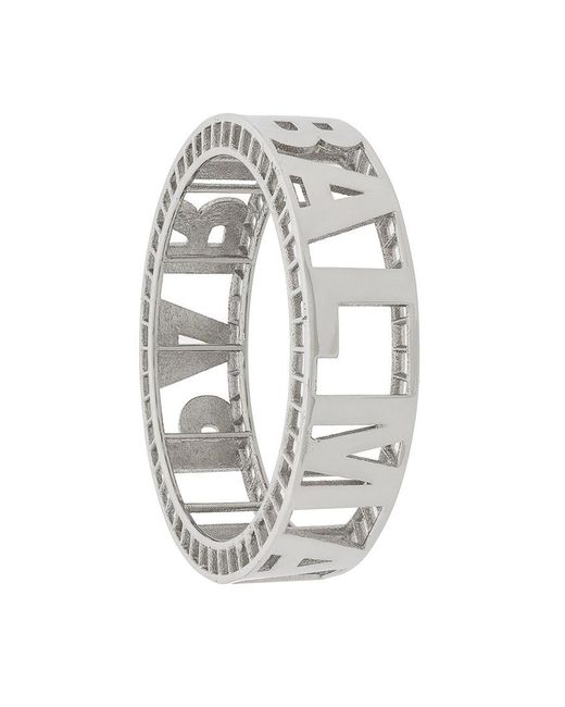 signature cuff bracelet - Metallic Balmain MJoKQ