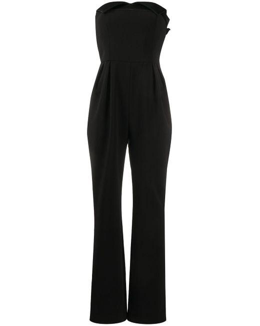Moschino ストラップレス ジャンプスーツ Black