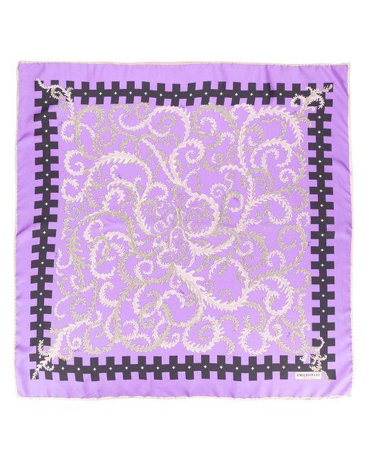 Шарф С Принтом Из Коллаборации С Koché Emilio Pucci, цвет: Purple