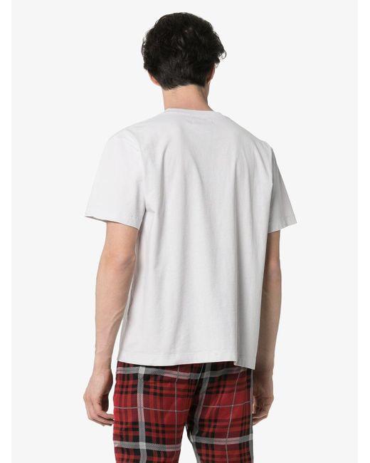 メンズ 424 プリント Tシャツ White