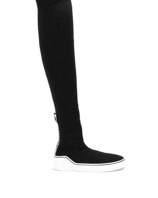 Givenchy Gorge V ニーハイ ソックスブーツ Black