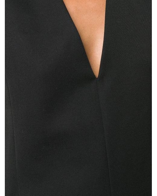 Jil Sander Vネック シフトドレス Black