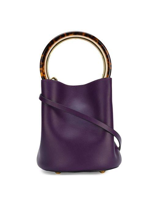 Marni Pannier バケットバッグ Purple