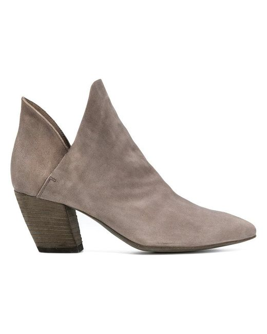 Officine Creative - Gray Sabine Ankle Boots - Lyst