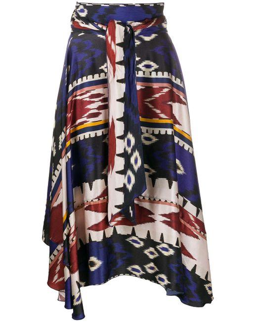 Forte Forte ハイウエスト スカート Multicolor